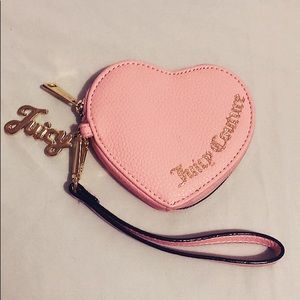 Juicy Couture Heart Wristlet